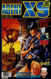 Cover Thumbnail for Agent X9 (Semic, 1976 series) #1/1995