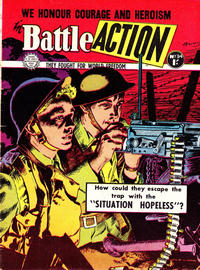 Cover Thumbnail for Battle Action (Horwitz, 1954 ? series) #34