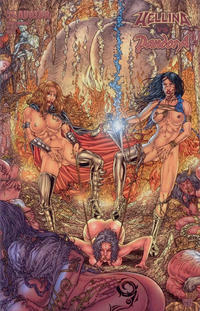 Cover Thumbnail for Hellina vs Pandora (Avatar Press, 2003 series) #1 [Connecting Adult [Ryp]]