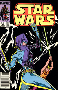 Cover Thumbnail for Star Wars (Marvel, 1977 series) #96 [Newsstand]