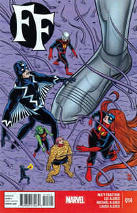 Cover Thumbnail for FF (Marvel, 2013 series) #14