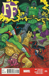 Cover Thumbnail for FF (Marvel, 2013 series) #15
