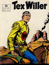 Cover Thumbnail for Tex Willer (Semic, 1977 series) #3/1977