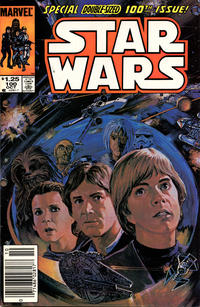 Cover Thumbnail for Star Wars (Marvel, 1977 series) #100 [Newsstand]
