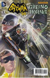 Cover Thumbnail for Batman '66 Meets the Green Hornet (DC, 2014 series) #5