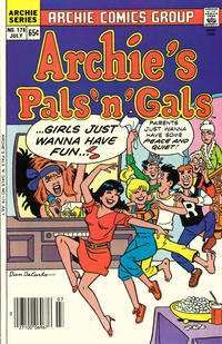 Cover Thumbnail for Archie's Pals 'n' Gals (Archie, 1952 series) #176 [Regular Edition]