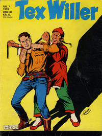 Cover Thumbnail for Tex Willer (Semic, 1977 series) #7/1978