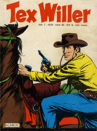 Cover Thumbnail for Tex Willer (Semic, 1977 series) #7/1979