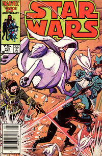 Cover Thumbnail for Star Wars (Marvel, 1977 series) #105 [Newsstand]