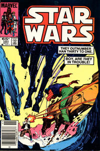 Cover Thumbnail for Star Wars (Marvel, 1977 series) #101 [Newsstand]