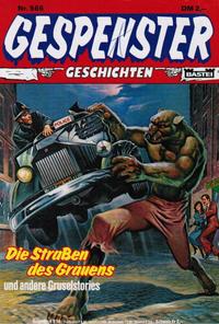 Cover Thumbnail for Gespenster Geschichten (Bastei Verlag, 1974 series) #566