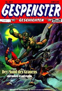 Cover Thumbnail for Gespenster Geschichten (Bastei Verlag, 1974 series) #553