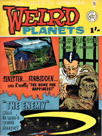 Cover Thumbnail for Weird Planets (Alan Class, 1962 series) #15