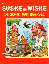 Cover Thumbnail for Suske en Wiske (Standaard Uitgeverij, 1967 series) #111 - De schat van Beersel