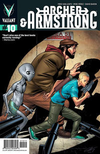 Cover Thumbnail for Archer and Armstrong (Valiant Entertainment, 2012 series) #10 [Cover A - Clayton Henry]