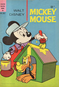 Cover Thumbnail for Walt Disney's Mickey Mouse (W. G. Publications; Wogan Publications, 1956 series) #207