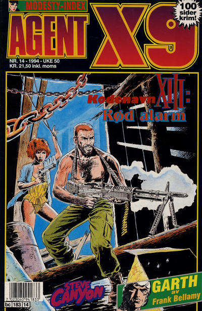Cover for Agent X9 (Semic, 1976 series) #14/1994