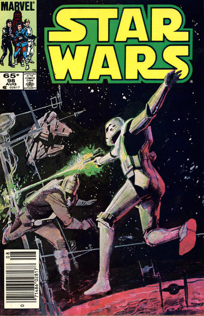 Cover for Star Wars (Marvel, 1977 series) #98 [Newsstand]