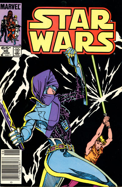 Cover for Star Wars (Marvel, 1977 series) #96 [Direct Edition]