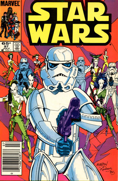 Cover for Star Wars (Marvel, 1977 series) #97 [Newsstand]