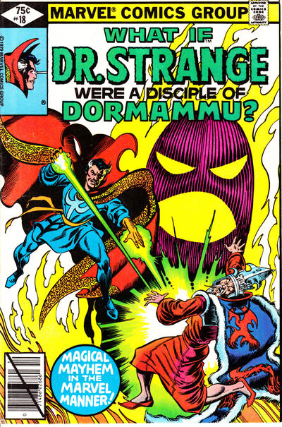 Cover for What If? (Marvel, 1977 series) #18 [Direct]