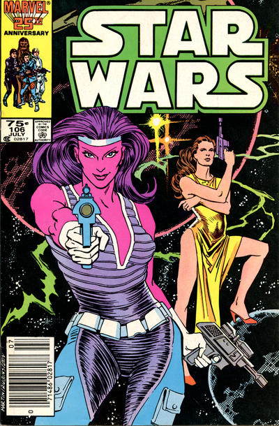Cover for Star Wars (Marvel, 1977 series) #106 [Direct Edition]