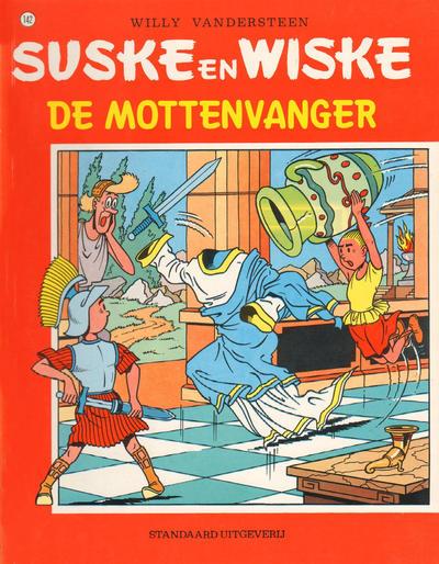 Cover for Suske en Wiske (Standaard Uitgeverij, 1967 series) #142 - De mottenvanger