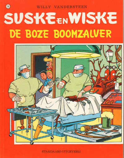 Cover for Suske en Wiske (Standaard Uitgeverij, 1967 series) #139 - De boze boomzalver