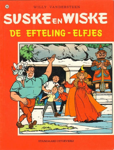 Cover for Suske en Wiske (Standaard Uitgeverij, 1967 series) #168 - De Efteling-elfjes