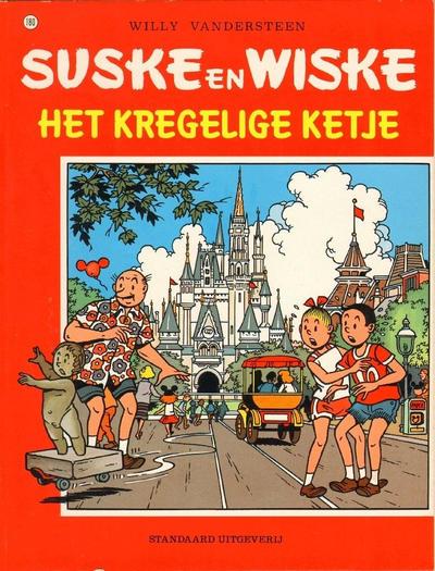 Cover for Suske en Wiske (Standaard Uitgeverij, 1967 series) #180 - Het kregelige Ketje