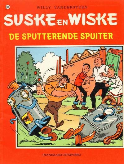 Cover for Suske en Wiske (Standaard Uitgeverij, 1967 series) #165 - De sputterende spuiter [Eerste druk]