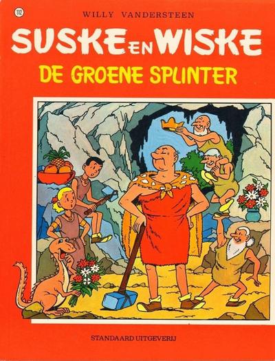 Cover for Suske en Wiske (Standaard Uitgeverij, 1967 series) #112 - De groene splinter