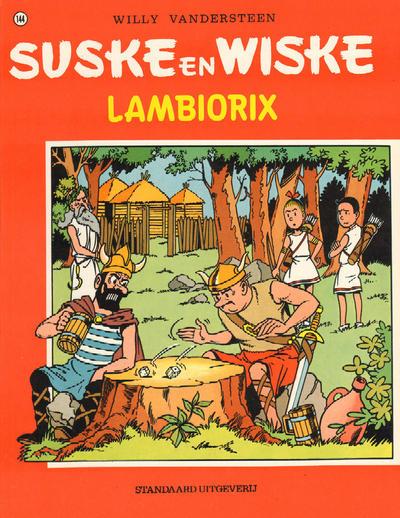 Cover for Suske en Wiske (Standaard Uitgeverij, 1967 series) #144 - Lambiorix