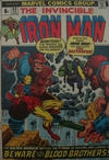 Cover Thumbnail for Iron Man (1968 series) #55 [British Price Variant]