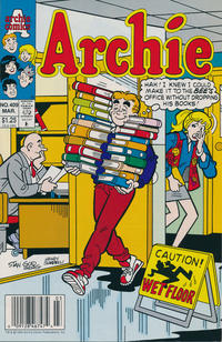 Cover Thumbnail for Archie (Archie, 1959 series) #409 [Newsstand]