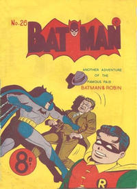 Cover Thumbnail for Batman (K. G. Murray, 1950 series) #26