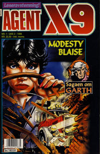 Cover Thumbnail for Agent X9 (Semic, 1976 series) #1/1996