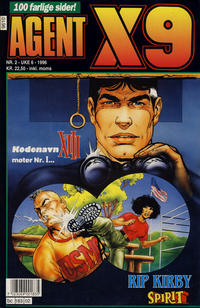 Cover Thumbnail for Agent X9 (Semic, 1976 series) #2/1996