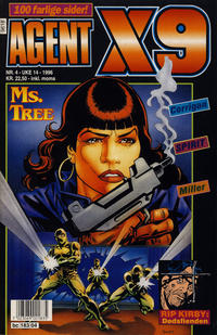 Cover Thumbnail for Agent X9 (Semic, 1976 series) #4/1996