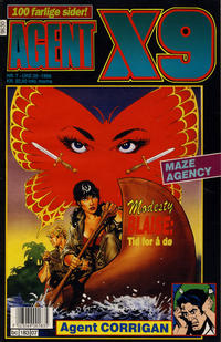 Cover Thumbnail for Agent X9 (Semic, 1976 series) #7/1996