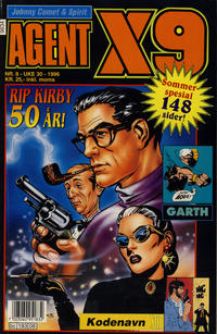 Cover Thumbnail for Agent X9 (Semic, 1976 series) #8/1996