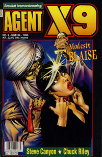 Cover Thumbnail for Agent X9 (Semic, 1976 series) #9/1996