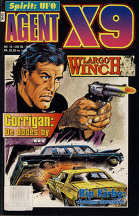 Cover Thumbnail for Agent X9 (Semic, 1976 series) #10/1996
