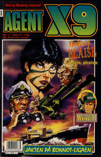 Cover Thumbnail for Agent X9 (Semic, 1976 series) #11/1996