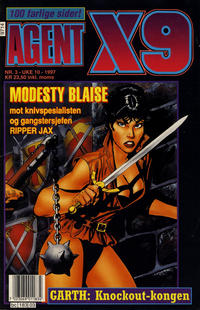 Cover Thumbnail for Agent X9 (Semic, 1976 series) #3/1997