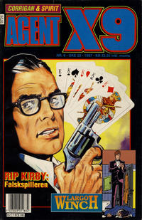 Cover Thumbnail for Agent X9 (Semic, 1976 series) #6/1997
