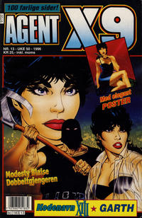 Cover Thumbnail for Agent X9 (Semic, 1976 series) #13/1996