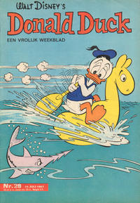 Cover Thumbnail for Donald Duck (Geïllustreerde Pers, 1952 series) #28/1967