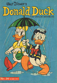 Cover Thumbnail for Donald Duck (Geïllustreerde Pers, 1952 series) #20/1967