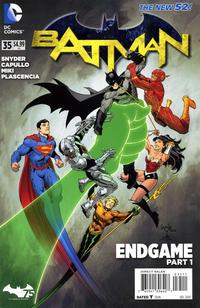 Cover Thumbnail for Batman (DC, 2011 series) #35